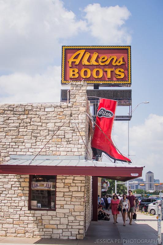 Allens Boots South Congress Austin Texas