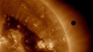SDO's Ultra-high Definition View of 2012 Venus Transit - 193 Angstrom | by NASA Goddard Photo and Video