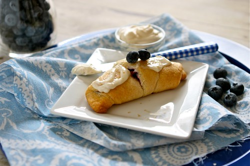 Blueberry Cream cheese crescent rolls 001 | by Hungry Housewife