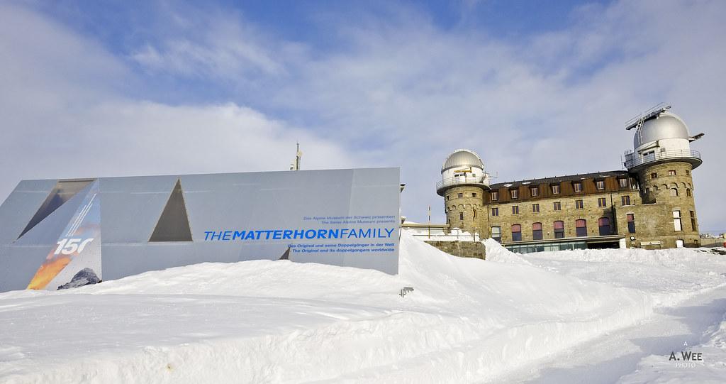The Matterhorn Family exhibit
