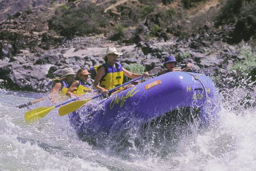 Lower Salmon River Trips