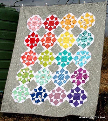 On a Whim Quilt Finished | by goneaussiequilting