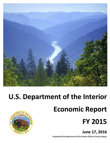 U.S. Department of the Interior Economic Report FY 2015 @Interior