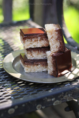 Chocolate Peanut Butter Rice Krispies Bars 2 | by Xiaolu // 6 Bittersweets