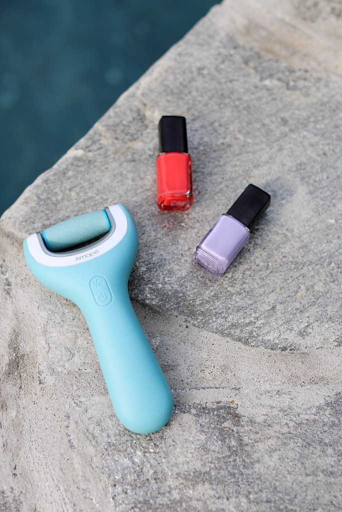 The Secret to Doing Your Own Pedicure   The Best DIY Pedicure with Amope Foot File   Living After Midnite by Beauty Blogger Jackie Giardina