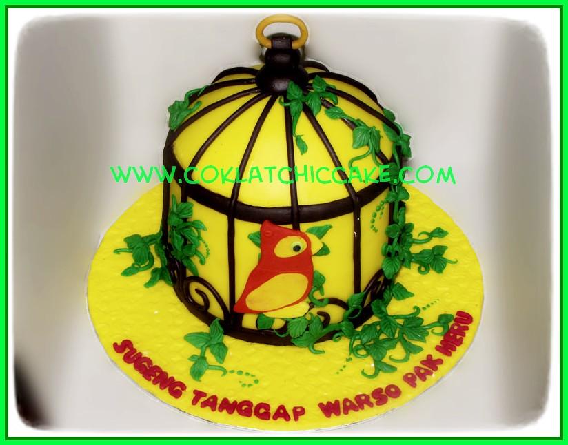 Cake Sangkar burung