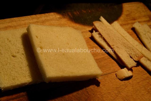 Roulé de Croque-Monsieur © Ana Luthi Tous droits réservés