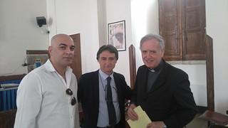 Incontro con Mons.Giuseppe Magrin Presidente Confederazione Internazionale Unione Apostolica del Clero Vaticano