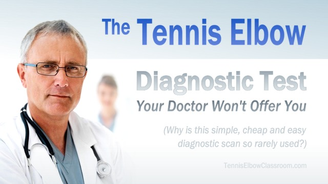 The Sonogram: A Tennis Elbow Diagnostic Test Your Doctor Won't Give You