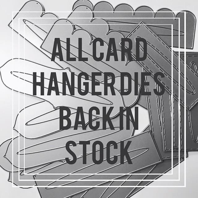 Card Hanger Dies