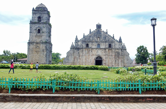 paoay church history belltower