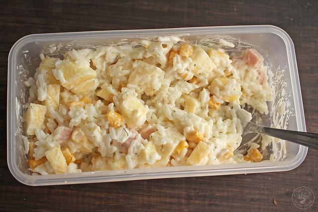 Ensalada de pechuga de pavo, manzana, maíz y yogur www.cocinandoentreolivos.com (12)