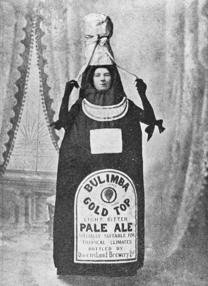 Advertisement for Bulimba Beer brewed in Brisbane, 1900