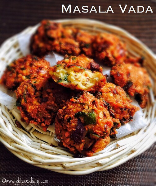 Masala Vada Recipe for Toddlers and Kids4