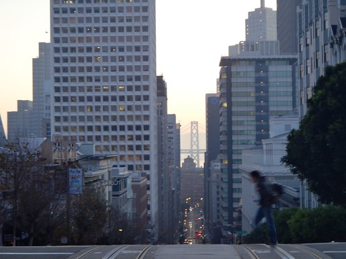 Top of Powell street looking East, San Francisco | by julesberry2001
