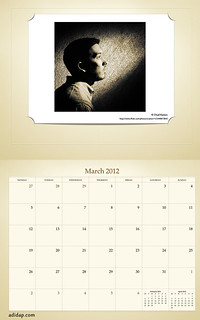 ADIDAP Calendar 2012 UK Retro March | by akhater