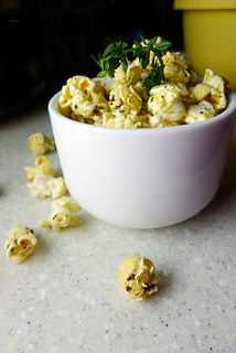 brown butter and lemon popcorn | by chotda