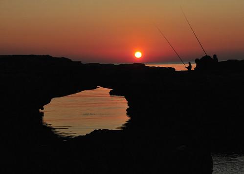 Fishing At Sunset Anfeh Lebanon Mohannad Khatib Flickr