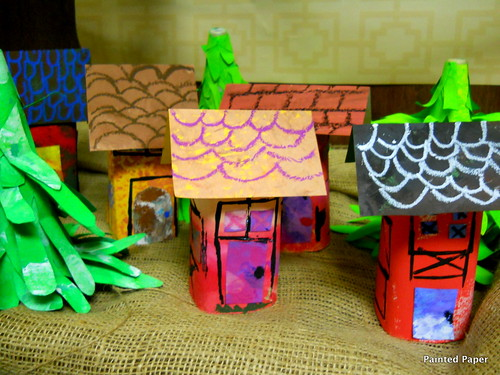 Woodland Fairy Houses | by paintedpaper