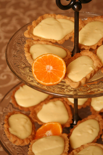 orange cream tart 5 | by crumblycookie