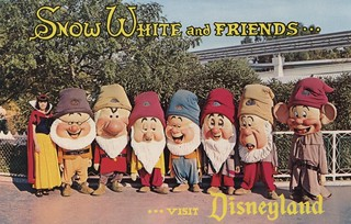 Snow White and Friends....Visit Disneyland | by The Cardboard America Archives