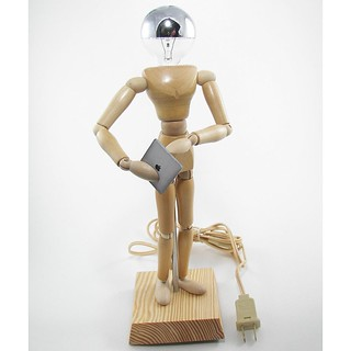 Manikin Figure Lamp with iPad 01 | by Whamodyne