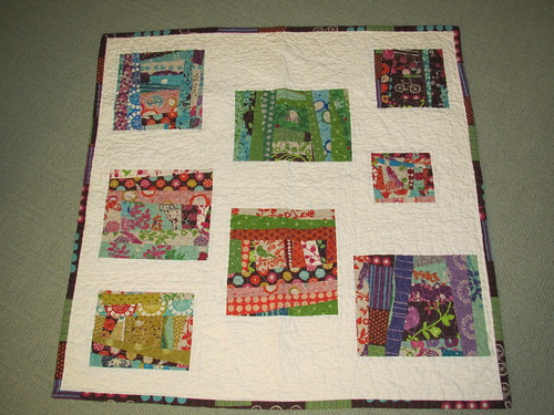 Quinn's Quilt Front, Echino | by barefoot sewing