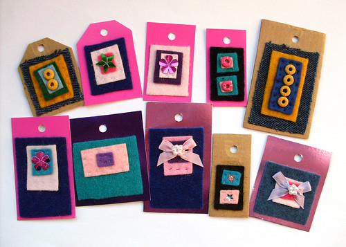 Crafty Scrap Gift Tags | by bugsandfishes by lupin