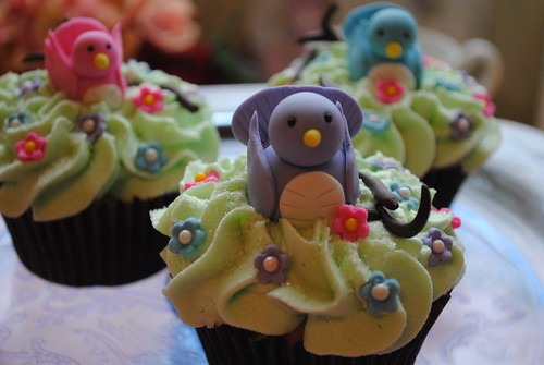 Bird Cupcakes | by DixieBelleCupcakeCafe