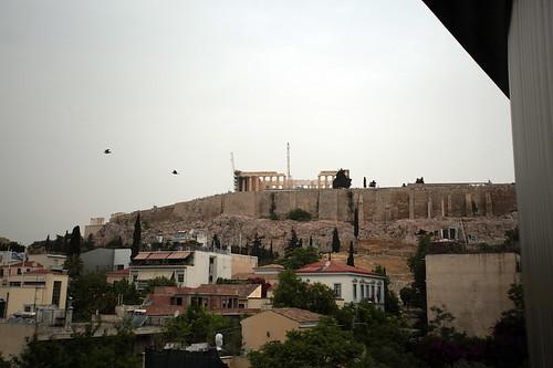 Museo dell'Acropoli: vista sul Partenone