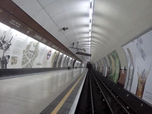 Bakerloo Line, Charing Cross Tube Station, London