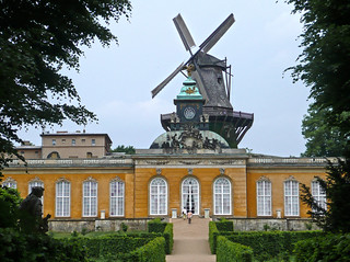 The Windmill and the New Chambers, Palace Sanssousi, Potsdam, Germany | by Ferry Vermeer
