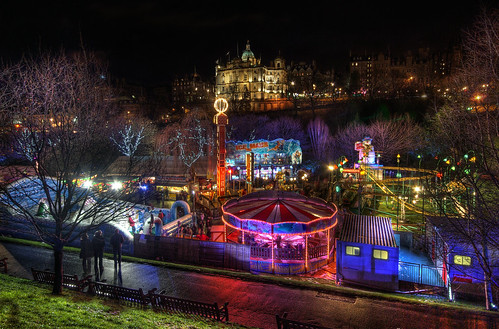 Winter at East Princes Street Gardens | by elementalPaul