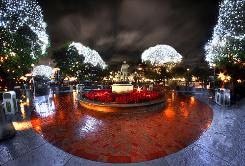 A Fish Eyed View Of Christmas At Disneyland | by WJMcIntosh