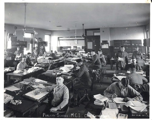 Publicity Schools, Marine Corps Institute, ca. World War I | by Marine Corps Archives & Special Collections