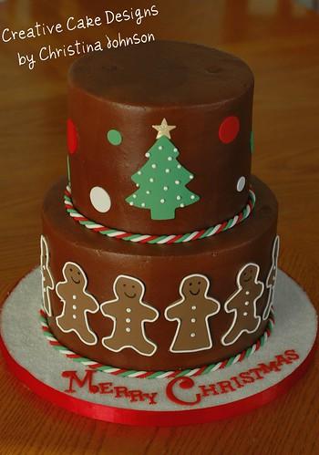 Ginger Cake Patterns And Design : Gingerbread Cake Flickr - Photo Sharing!