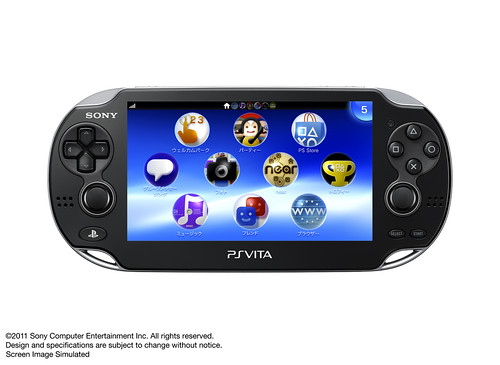 PS Vita - Front View | by PlayStation.Blog