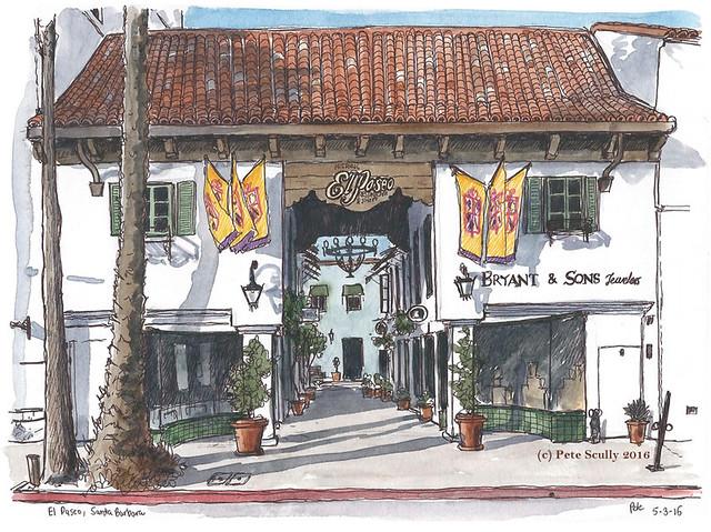 El Paseo Santa Barbara
