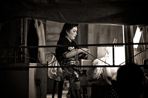 Chinese Opera Performer Backstage, Singapore | by calvinistguy
