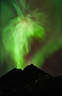 Northern lights on Kvaløya 2012-01-23 | by LarsT