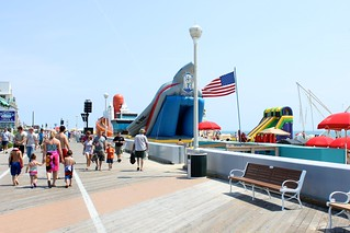 Activities on the beach during the air show | by ocmdhotels