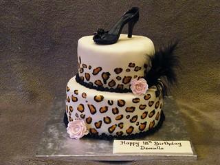 Leopard Print Cake Inside Recipe