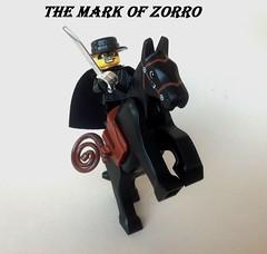 The Mark of Zorro (Action Shot)