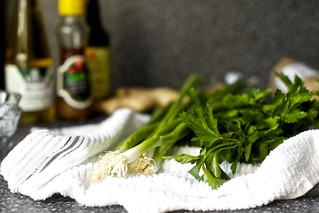 scallions, greens, bottles of stuff | by smitten kitchen