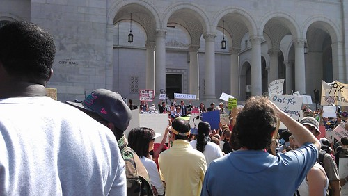 Occupy LA_12_kp | by Antioch University Los Angeles