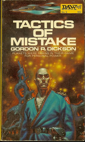 Tactics of Mistake - Childe Cycle book - Gordon R. Dickson - cover artist Kelly Freas