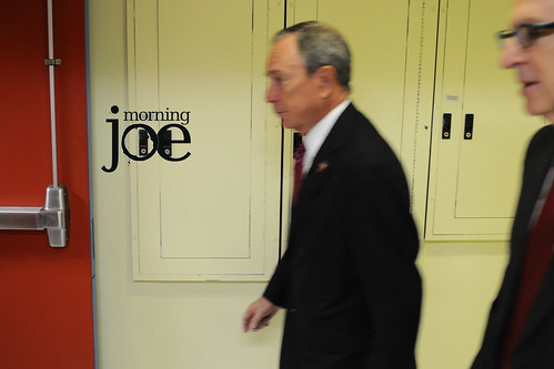 Mayor #MichaelBloomberg and Cornell University President #DavidSkorton... | by Morning Joe show