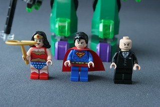 6862 Superman vs Power Armor Lex - Minifigs | by fbtb