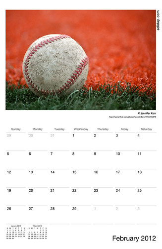 ADIDAP Calendar 2012 US February | by akhater