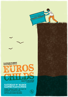 Euros Childs 'Solo Piano Tour' + Support | by Ben Davies Design